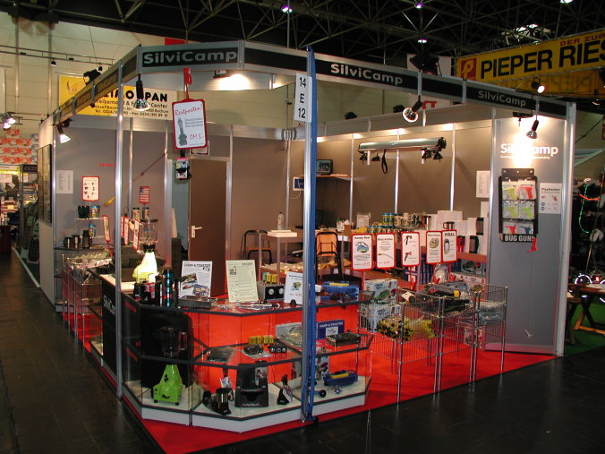 SilviCamp booth at Caravan Salon Duesseldorf